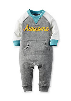 Carter's® French Terry Jumpsuit Baby/Infant Boy