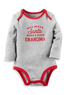 Carter's Who Needs Santa Collectible Bodysuit
