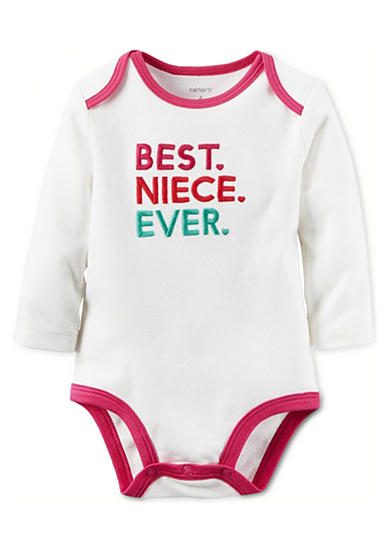 Carter's® Best Niece Ever Collectible Bodysuit