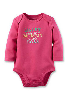 Carter's Mommy's The Boss Collectible Bodysuit