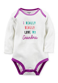 Carter's® Love My Grandma Collectible Bodysuit
