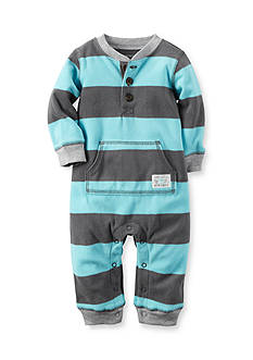 Carter's® Stripe Front Pocket Coverall