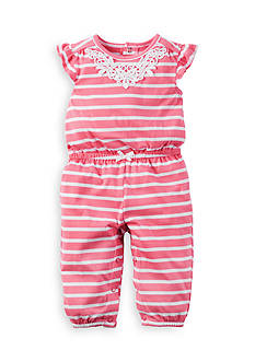 Carter's Stripe Jumpsuit