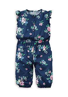 Carter's Floral Jumpsuit