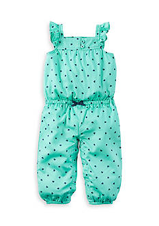 Carter's Heart Print Jumpsuit