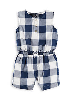Carter's Buffalo Check Romper