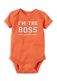 Carter's® I'm The Boss Collectible Bodysuit