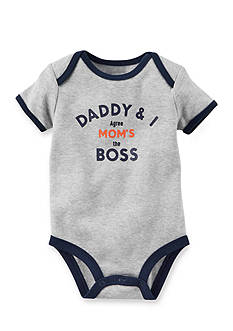 Carter's® Mom's The Boss Collectible Bodysuit