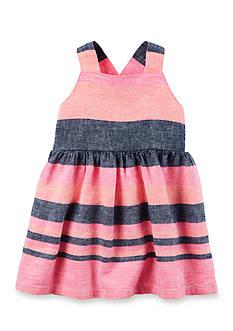 Carter's Striped Woven Dress