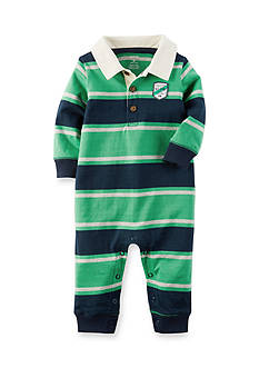 Carter's® Rugby Stripe Jumpsuit