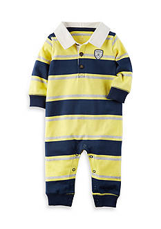 Carter's Rugby Stripe Jumpsuit