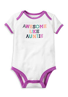 Carter's Awesome Like Auntie Collectible Bodysuit