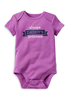 Carter's Always Daddy's Princess Collectible Bodysuit
