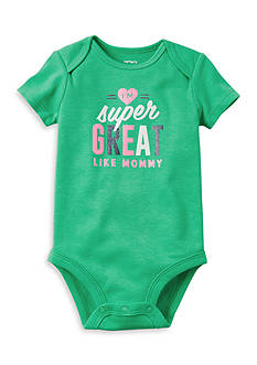 Carter's Super Great Like Mommy Collectible Bodysuit