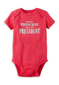 Carter's Call Me President Collectible Bodysuit