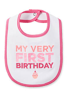 Carter's® Embroidered 'My Very First Birthday' Bib