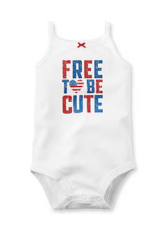 Carter's® 'Free To Be Cute' Bodysuit