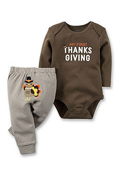Carter's 2-Piece Thanksgiving Bodysuit and Pants Set