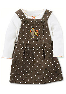 Carter's 2-Piece Thanksgiving Top and French Terry Jumper Set
