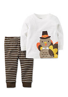 Carter's 2-Piece Thanksgiving Top and Pants Set