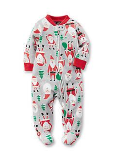 Carter's Fleece Zip-Up Christmas Sleep & Play