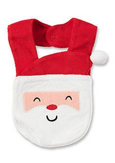 Carter's Santa Terry Teething Bib