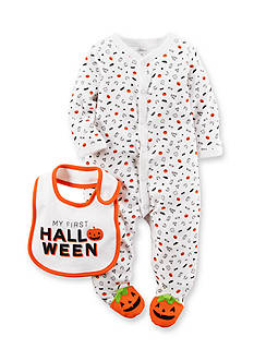 Carter's® Halloween Cotton 1-Piece & Bib Set