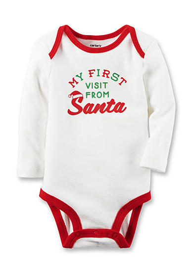 Carter's® First Santa Visit Collectible Bodysuit