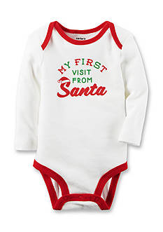 Carter's First Santa Visit Collectible Bodysuit