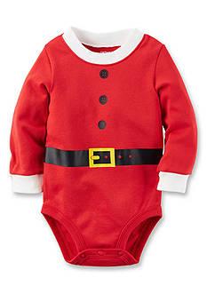 Carter's Santa Suit Christmas Bodysuit