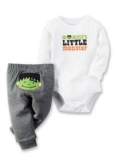 Carter's® 2-Piece Mommy's Little Monster Bodysuit and Pants Set