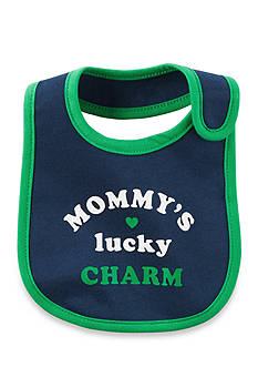 Carter's® 'Mommy's Lucky Charm' Bib