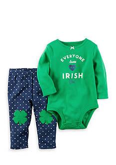 Carter's 2-Piece St. Patrick's Day Bodysuit and Pant Set