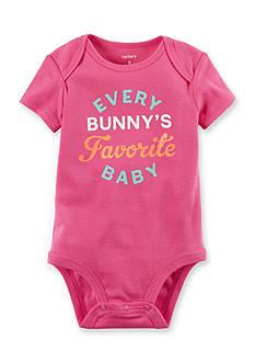 Carter's 'Every Bunny's Favorite Baby' Bodysuit Baby/Infant Girls