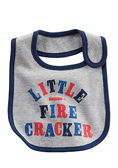 Carter's Little Firecracker Fourth of July Teething Bib