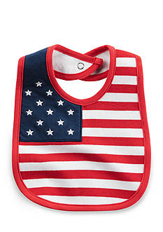 Carter's American Flag Fourth of July Teething Bib