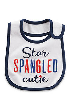 Carter's Star Spangled Cutie Fourth of July Teething Bib