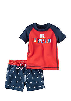 Carter's® Fourth of July Rashguard Set