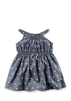 Carter's Polka Dot Chambray Dress