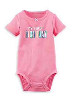 Carter's® My First Birthday Collectible Bodysuit