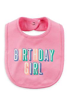 Carter's Birthday Girl Teething Bib