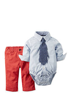Carter's® 3-Piece Chambray Shirt, Tie and Pant Set