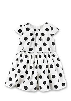 Carter's Sateen Polka Dot Dress