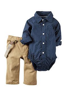 Carter's 2-Piece Button-Front Bodysuit And Pant Set