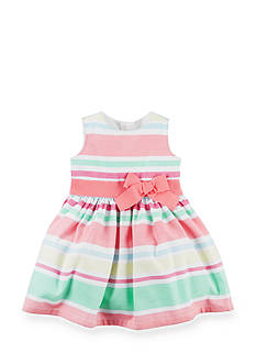 Carter's Striped Sateen Dress Baby/Infant Girls
