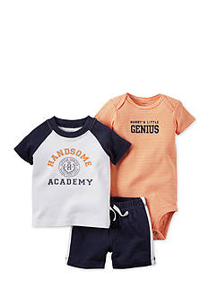 Carter's® 3-Piece 'Handsome Academy' Short Set