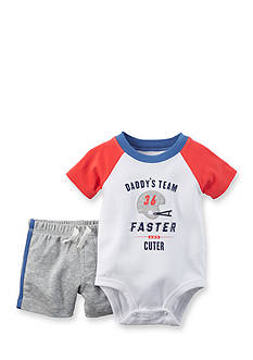 Carter's® 2-Piece 'Daddy's Team' Short Set