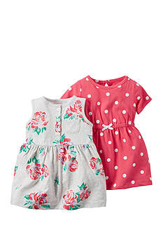 Carter's® 2-Pack Floral and Dot Dresses