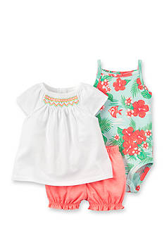 Carter's® 3-Piece Floral Print Set