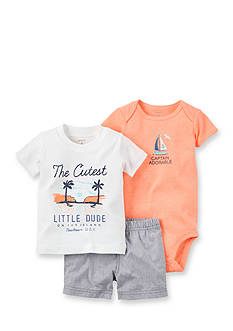 Carter's® 3-Piece Cutest Dude Short Set